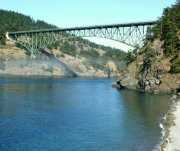 "Link to Facebook album ""Foggy Hike at Deception Pass - 9/12/08"""
