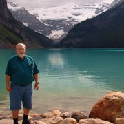 "Link to Facebook album ""Lake Louise in Canada's Banff National Park - 6/10/06"""