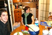 "Link to Facebook album ""Ravioli Dinner with Charlie - 10/25/09"""