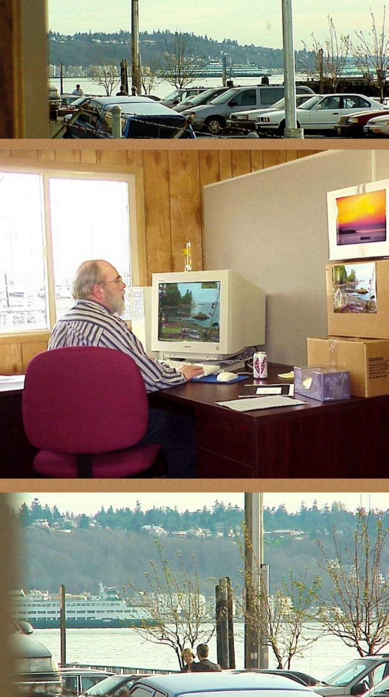 Norm's Current Office in Seattle - 3/20/00
