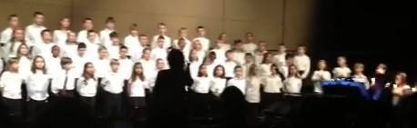 Link to video of Sandy Hook Elementary School 4th grade chorus