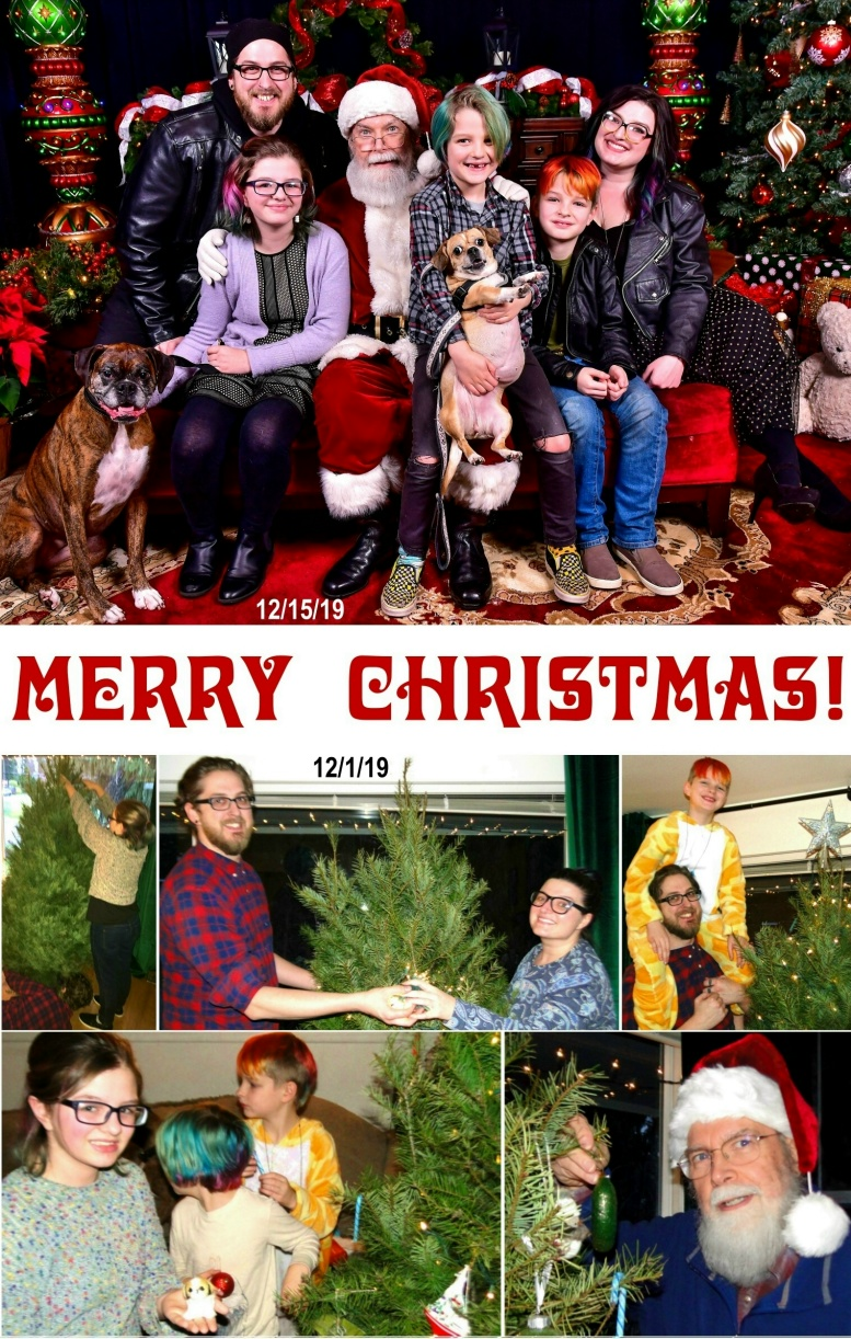 2019 Christmas Card - Front