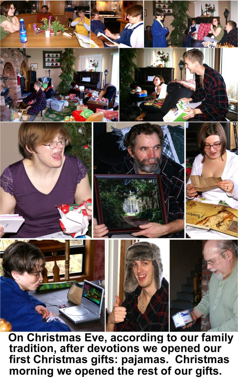 2007 Christmas Card - Christmas, 2006, Photos